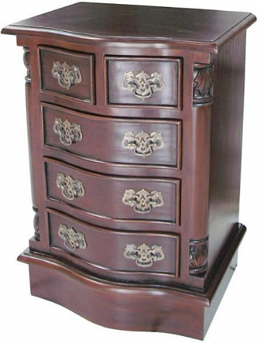 Five Drawer (2 over 3) Bedside Cabinet